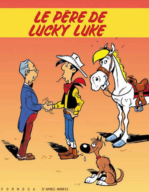 Illustrations Pub & Merchandising / Lucky.Luke.BD